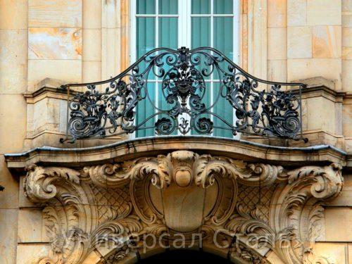 Кованый балкон №31 — фото
