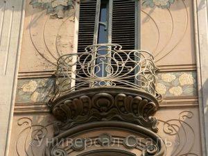 Кованый балкон №32