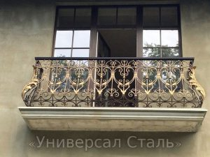 Кованый балкон №33 - фото 1