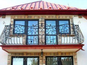 Кованый балкон №34