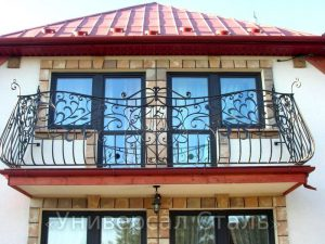 Кованый балкон №34 - фото 1