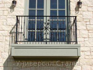 Кованый балкон №35 - фото 1