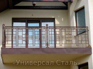 Кованый балкон №37 - фото 1