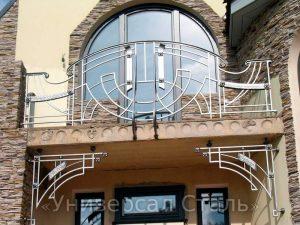 Кованый балкон №38 - фото 1
