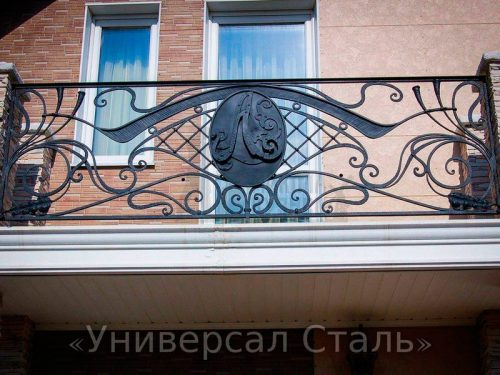 Кованый балкон №40 — фото