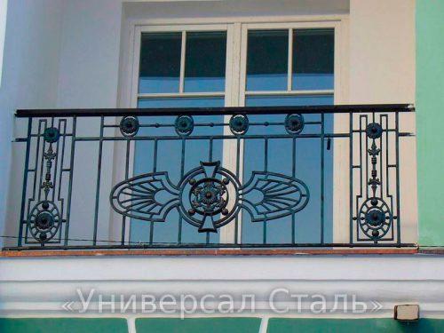 Кованый балкон №41 — фото