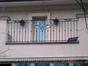 Кованый балкон №42 - фото 1