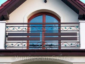 Кованый балкон №45