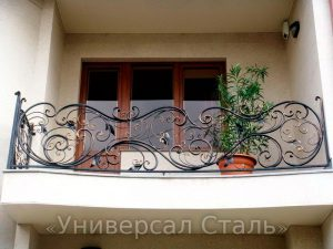 Кованый балкон №46 - фото 1