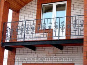 Кованый балкон №47 - фото 1