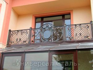 Кованый балкон №48 - фото 1