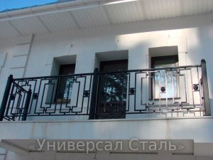 Кованый балкон №49