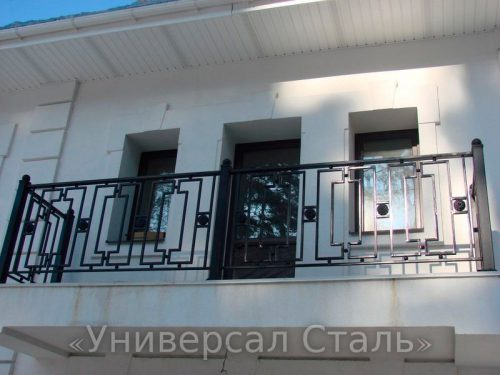 Кованый балкон №49 — фото