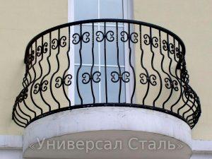Кованый балкон №5 - фото 1