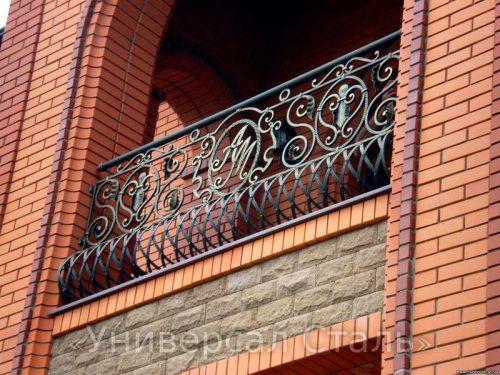 Кованый балкон №51 — фото