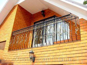 Кованый балкон №52