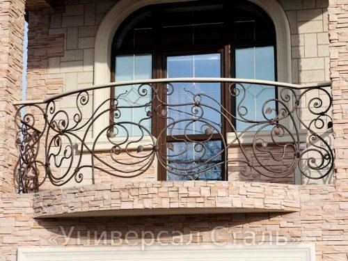 Кованый балкон №53 — фото