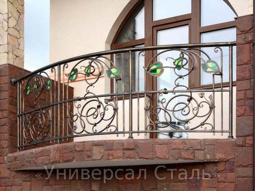 Кованый балкон №54 — фото