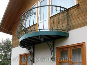 Кованый балкон №56