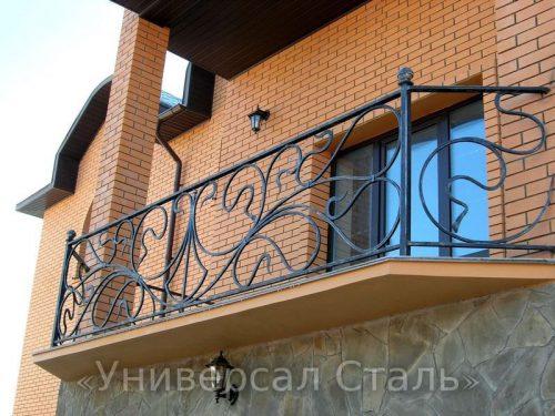 Кованый балкон №57 — фото