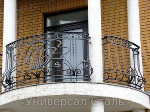 Кованый балкон №58