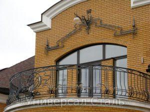 Кованый балкон №59
