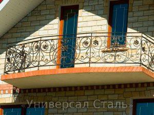 Кованый балкон №60