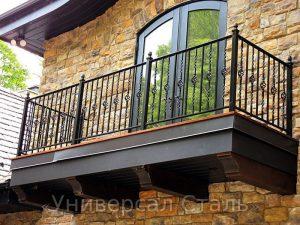 Кованый балкон №61