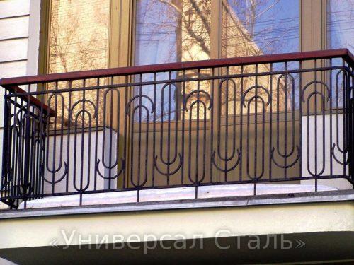 Кованый балкон №62 — фото