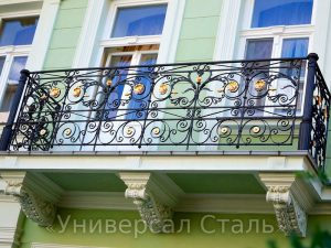 Кованый балкон №63