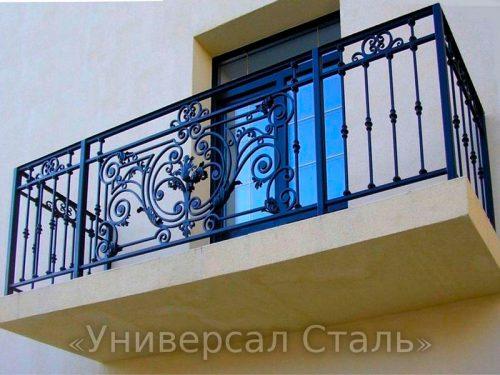 Кованый балкон №68 — фото