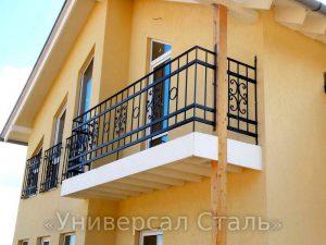 Кованый балкон №69 - фото 1