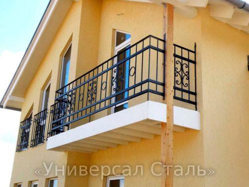 Кованый балкон №69 — фото