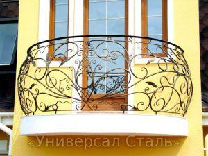 Кованый балкон №7 - фото 1