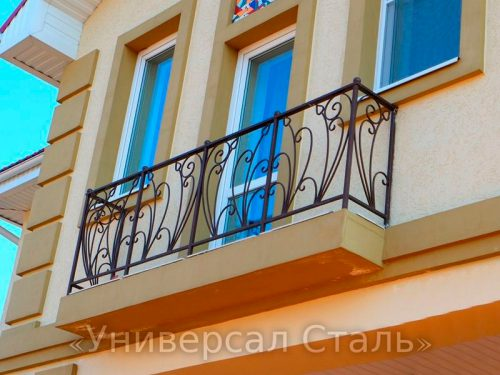 Кованый балкон №71 — фото