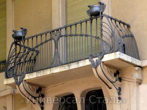 Кованый балкон №72