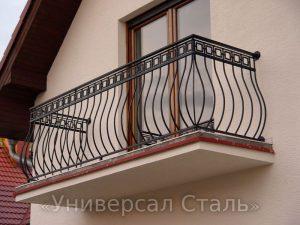 Кованый балкон №73