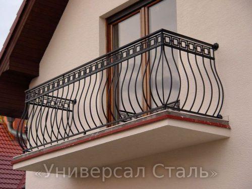 Кованый балкон №73 — фото