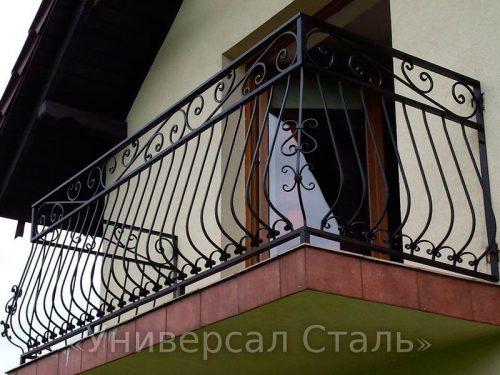 Кованый балкон №75 — фото