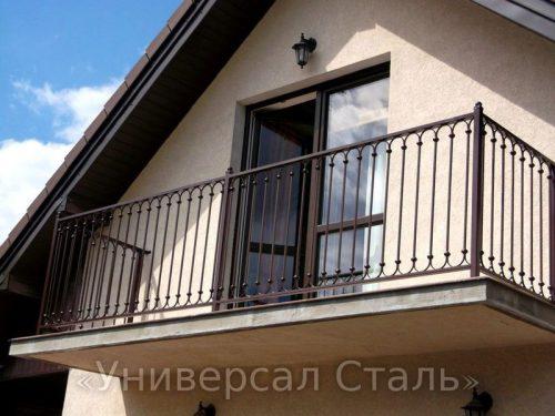 Кованый балкон №76 — фото