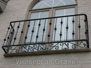 Кованый балкон №77