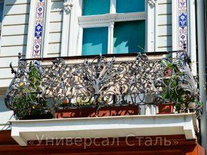 Кованый балкон №79