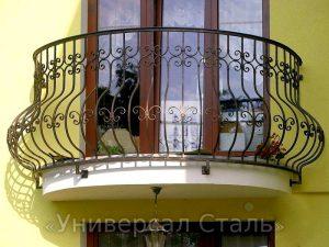 Кованый балкон №8