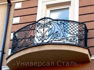 Кованый балкон №80