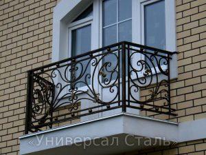 Кованый балкон №83