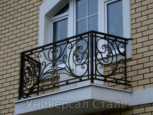 Кованый балкон №83 — фото