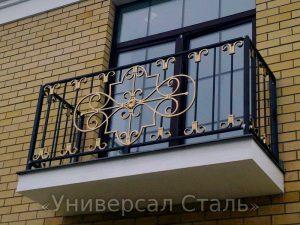 Кованый балкон №84