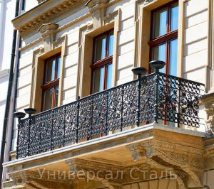Кованый балкон №85 - фото 1