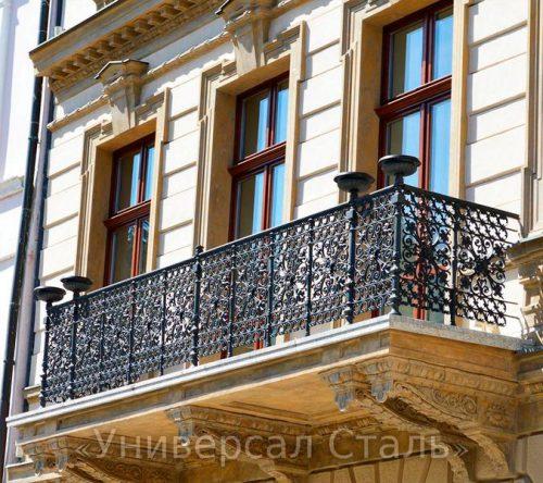 Кованый балкон №85 — фото