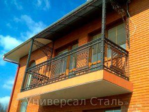 Кованый балкон №86